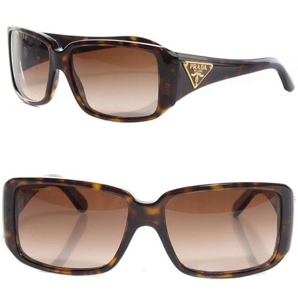 788842be27b PRADA tortoise shell sunglasses SPR 16L 💕💕💕💕💕.  M 5ae3a34f9a945587bddea467